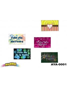 TARJETA Y/O DE: PARA: X48 UND. Ref. AYA*1