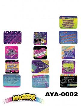 TARJETA Y/O DE: PARA: X48 UND. Ref. AYA*2